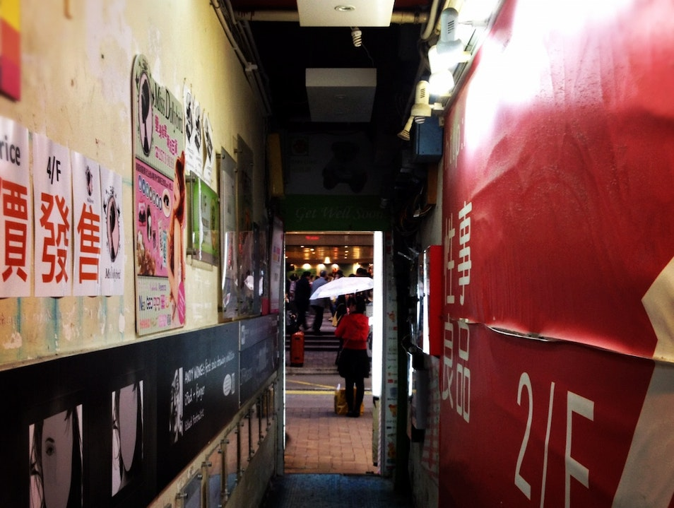 Getting Lost in Hong Kong's Magical Corridors