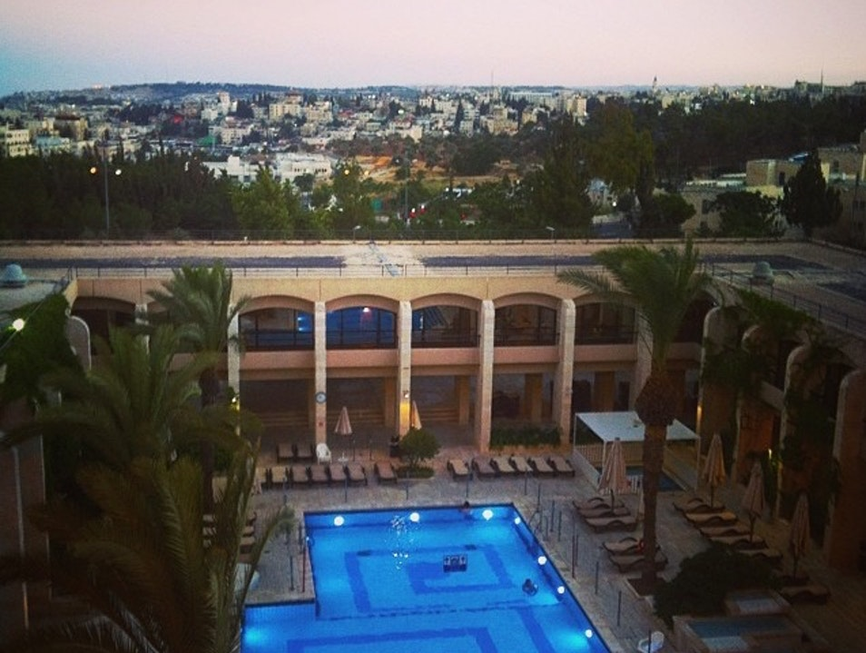 View of Jerusalem From Hotel Dan Tel Aviv  Israel