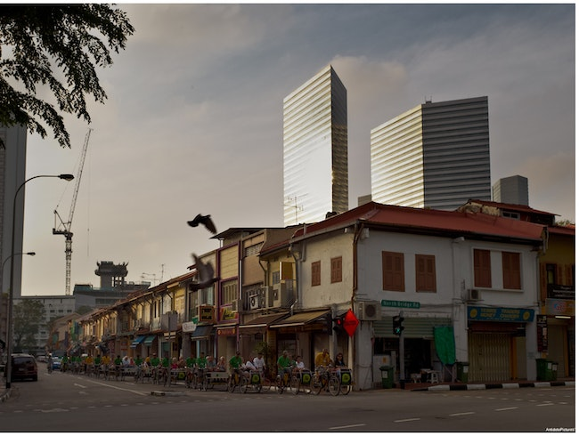Singapore - Old and new