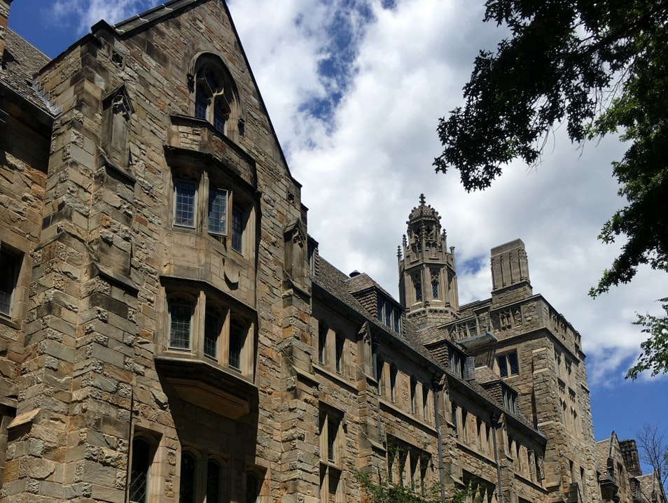 Visiting Yale University New Haven Connecticut United States