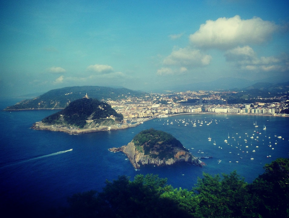 The best way to the best view in San Sebastian San Sebastian  Spain