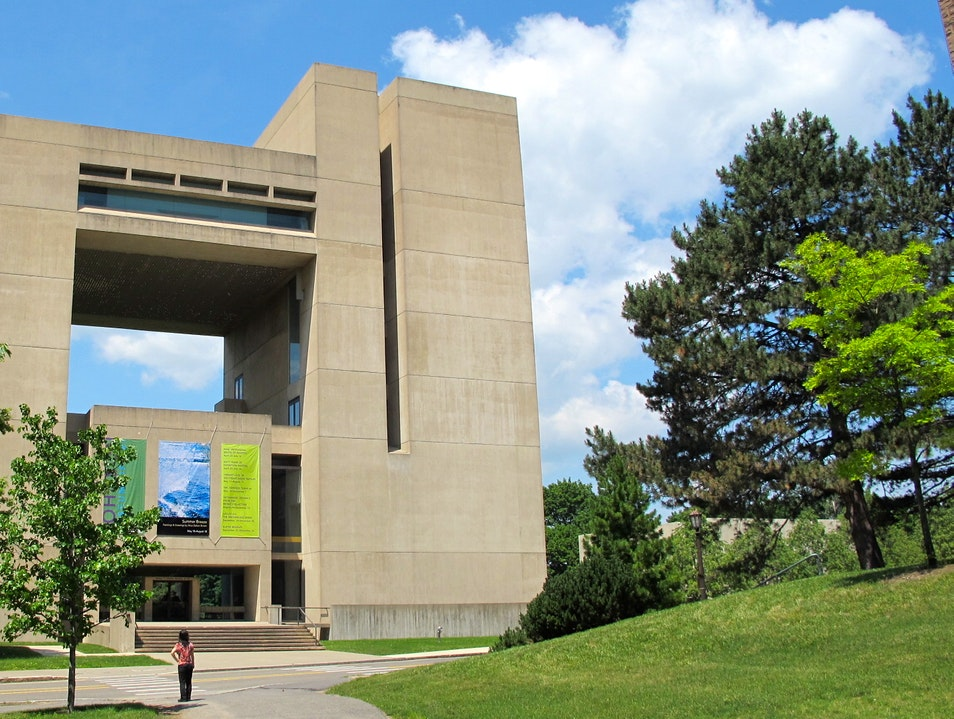 I.M. Pei in Ithaca Ithaca New York United States