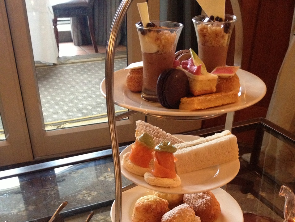 Afternoon tea at the Cape Grace Cape Town  South Africa