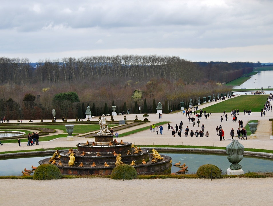 Palace Gardens Versailles  France