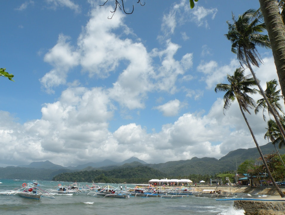 Windy sea-view Puerto Princesa  Philippines