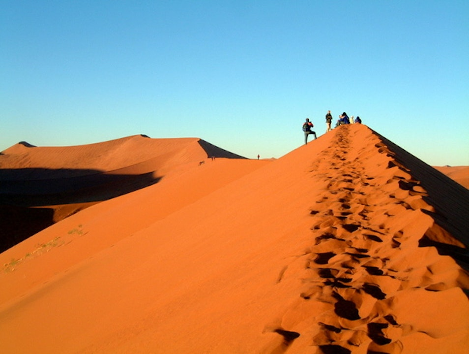 On Top of the World: Sossusvlei Dunes, Namibia