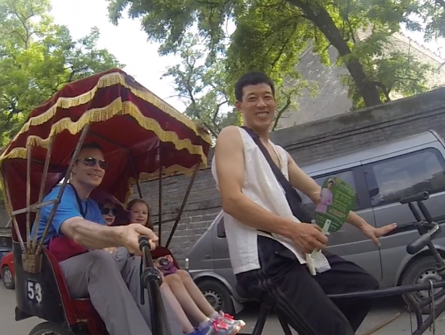 Take a Ride in a Pedi-Rickshaw