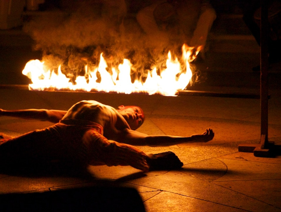 Dancing with Fire Montego Bay  Jamaica