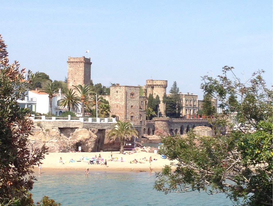Castle and a Beach Mandelieu La Napoule  France
