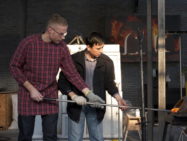 Glass-Blowing Session in Shanghai