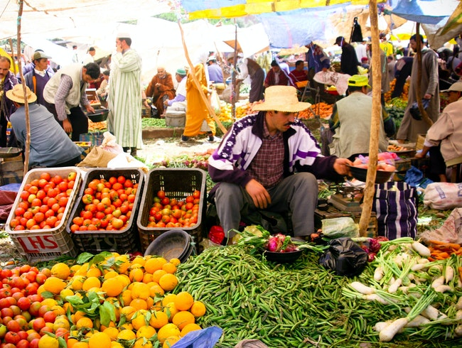 Market Day in the Atlas Mountains