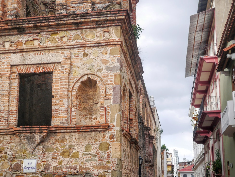 Can't get much more historic than Casco Viejo! Panama City  Panama