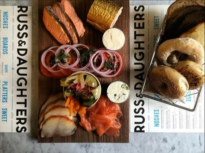 Russ & Daughters New York New York United States