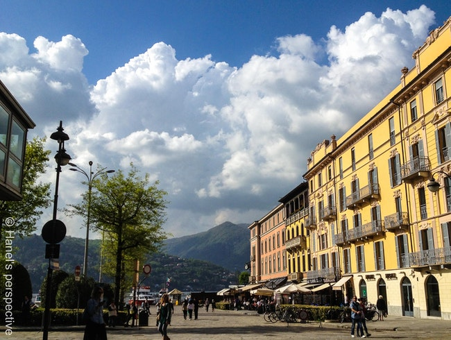 A day out in Como: Gelato, boutiques and beautiful lake promenade