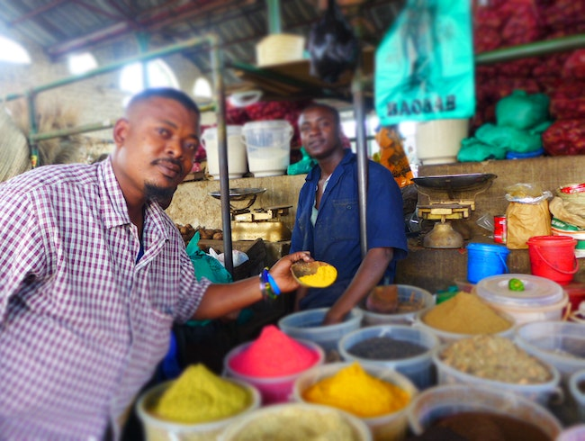 Experience Coastal Kenya at the Mombasa Spice Market