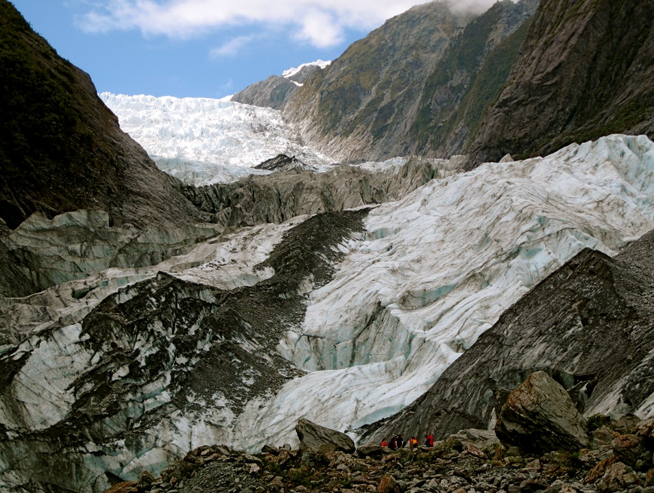 The Glacier of Legends Westland National Park  New Zealand