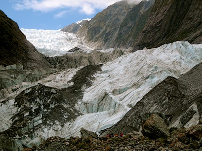 Franz Josef Glacier Westland National Park  New Zealand