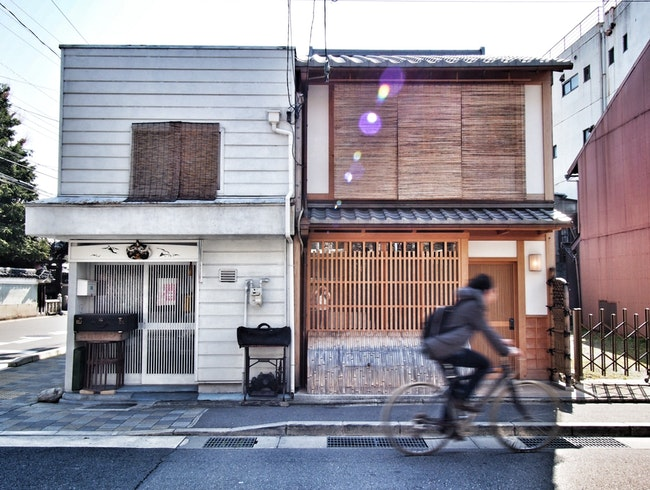 My favourite guesthouse in Gion, Kyoto. Available for rent.