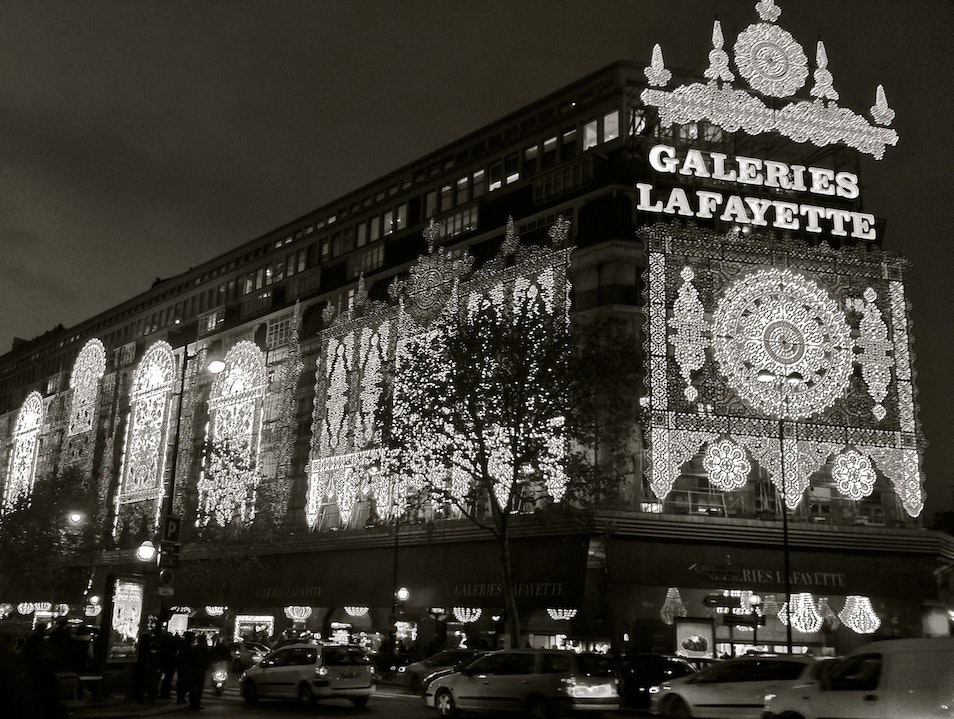 Galeries Lafayette, Paris During Holiday Season Paris  France