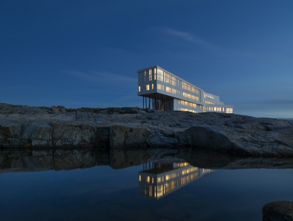 Modern Design Meets Natural Beauty Joe Batt's Arm  Canada