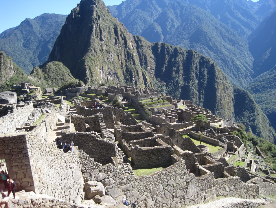 Machu Picchu Wonder of the World Santuario Historico Machu Picchu  Peru