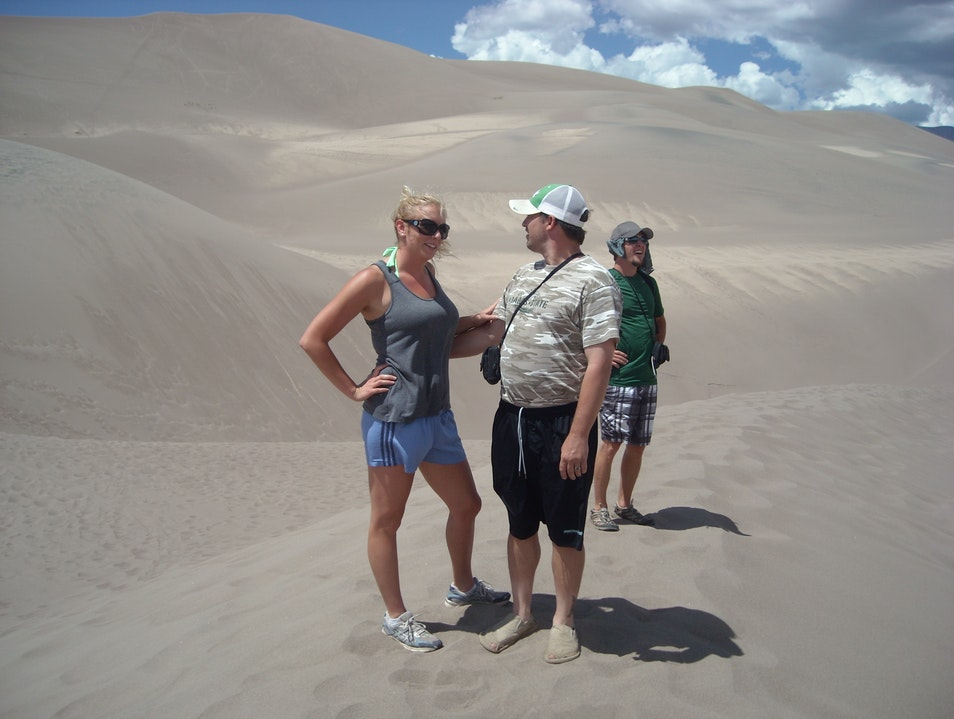 The Great Sand Dunes National Park MOSCA Colorado United States