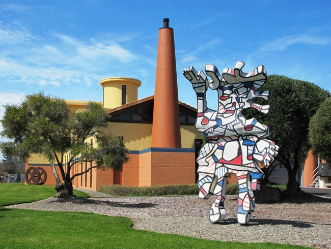 An Art Collector's Winery