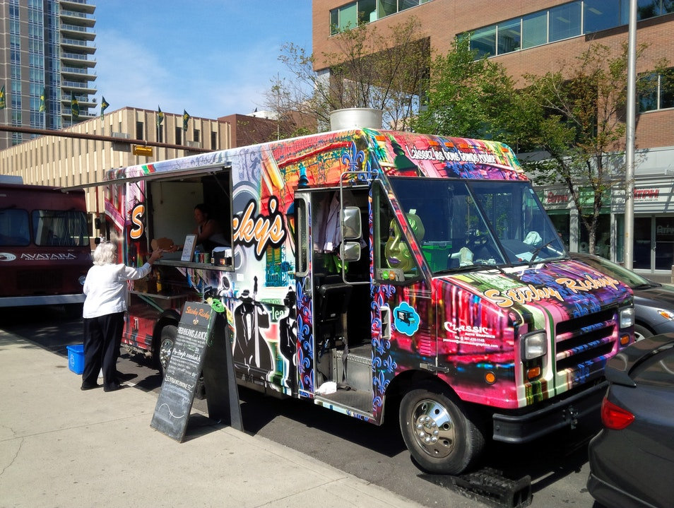 Food Trucks: Ubiquitous and Delicious