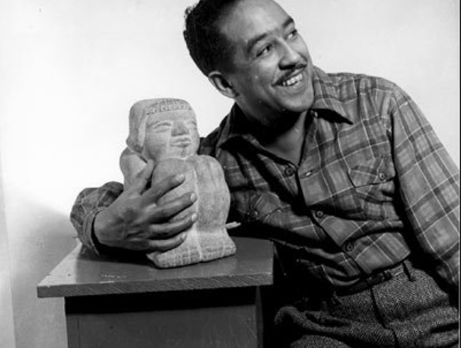 Langston Hughes' Mexico City