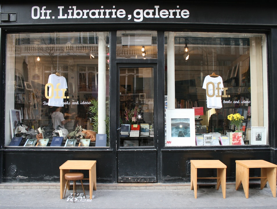 Read and shop at OFR  Paris  France