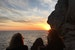 Sunset on the cliffs at Buza Bar