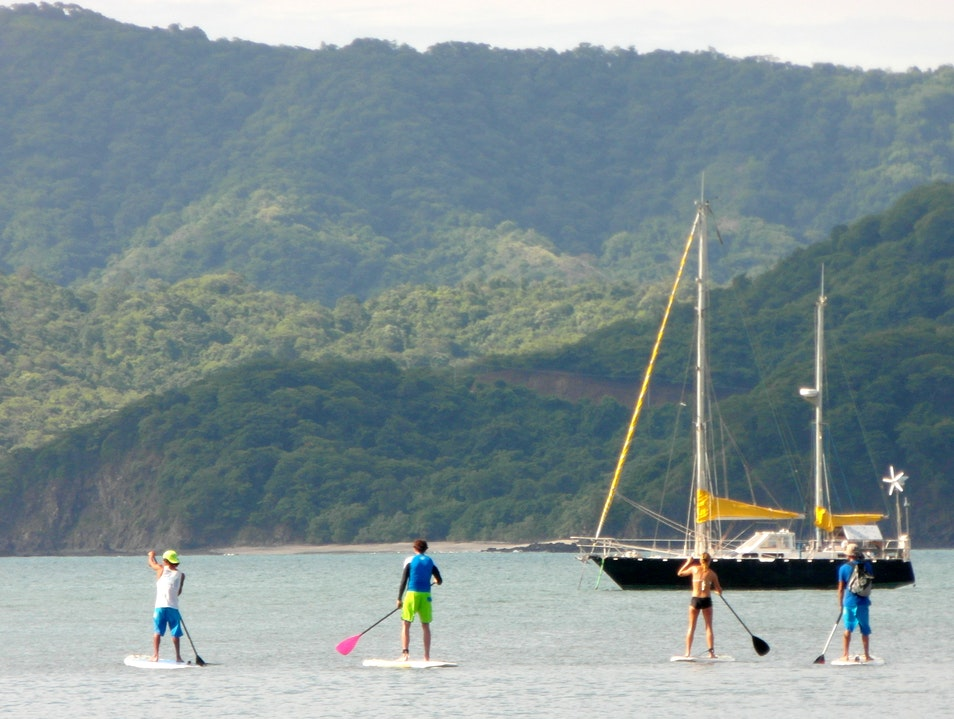 Stand Up Paddleboarding Playa Flamingo  Costa Rica