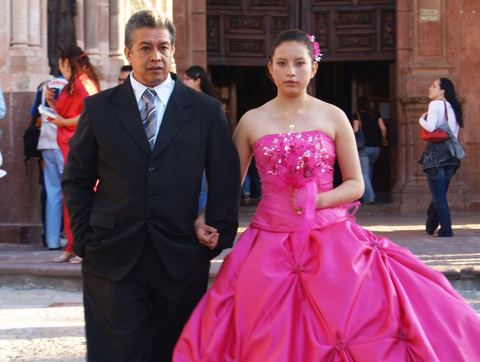 A Lovely Quinceañera and her Proud Papá