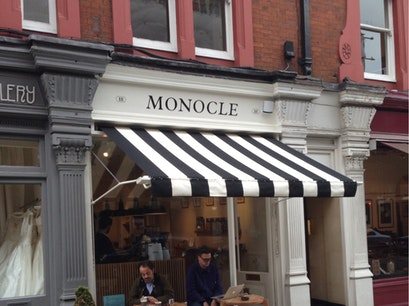 Monocle Café London  United Kingdom