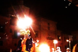 Procession and Parade on Calle Acera del Darro