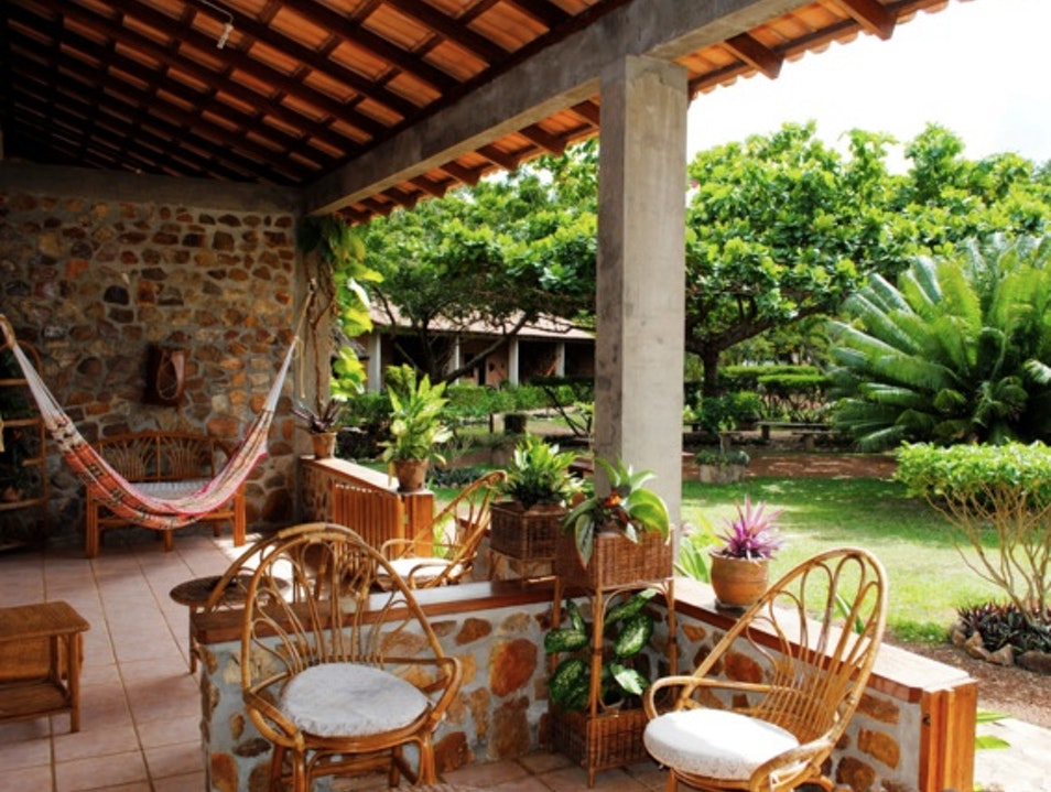 Eclectic Lodging Near the Rupununi River