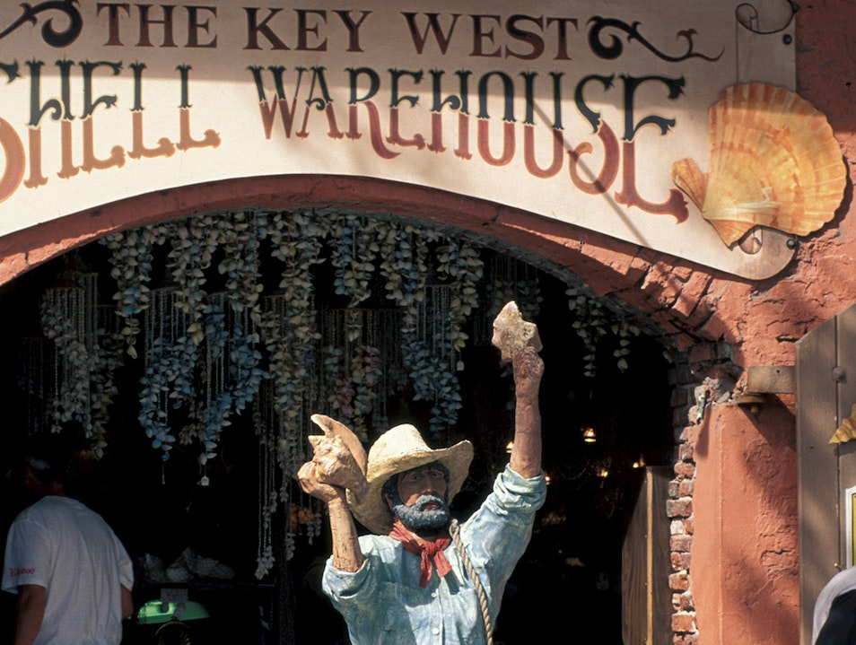 The Shell Warehouse  Key West Florida United States