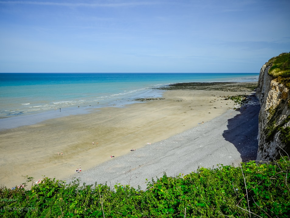 Gorgeous beach Veules-les-Roses  France