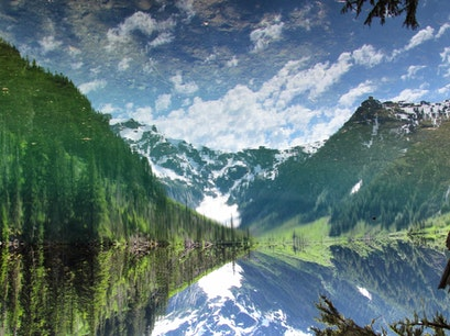 Goat Lake Mt. Baker National Forest Washington United States