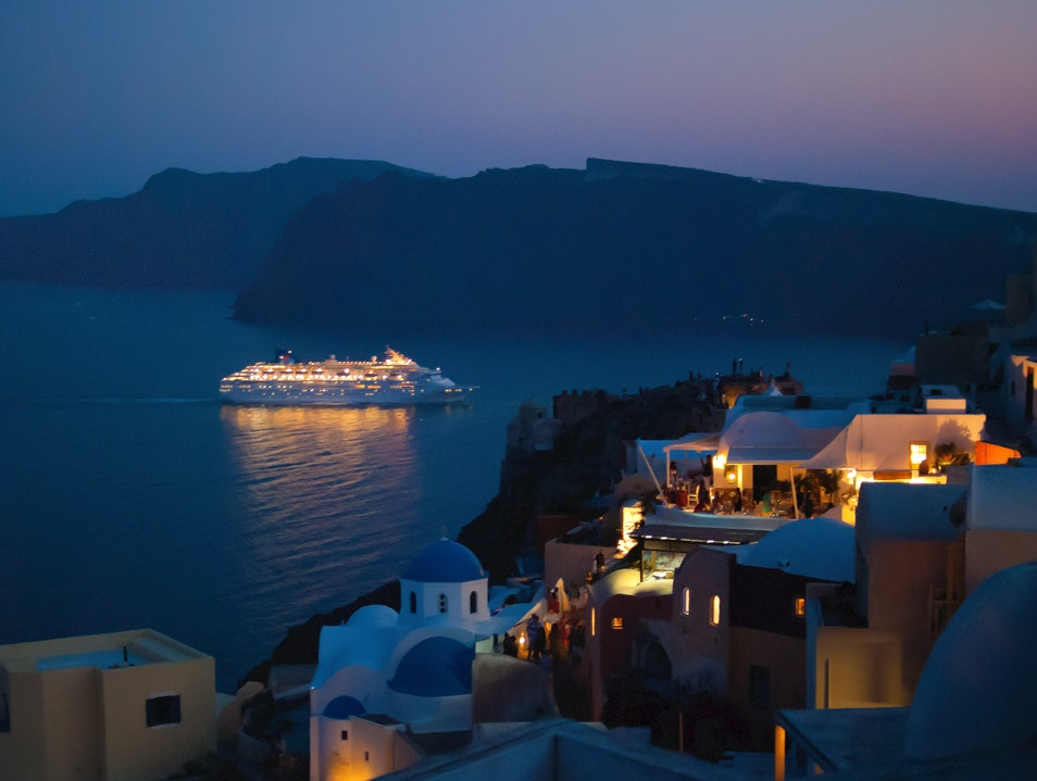 Summer Nights to Remember in Santorini Oia  Greece