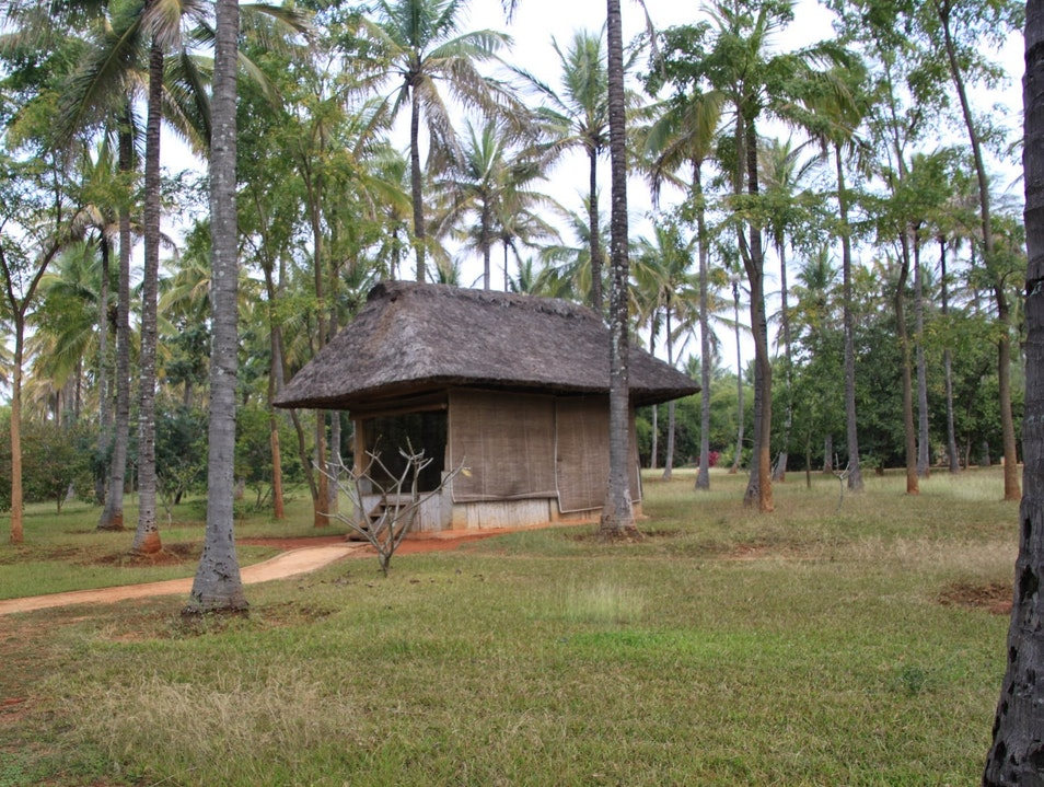 A meditation hut Bangalore  India