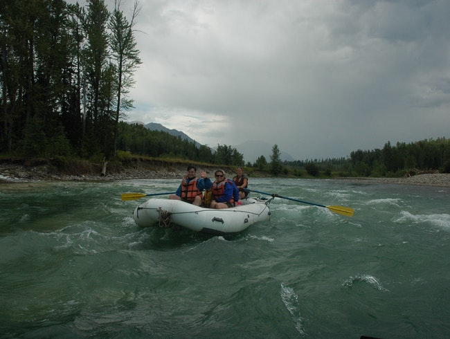 Rafting Down the Elk River in Fernie