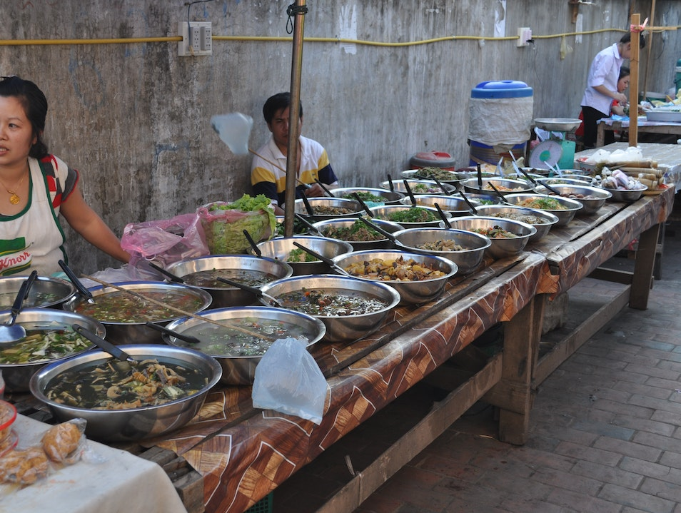 Everything for Sale on Sisavangvong Road