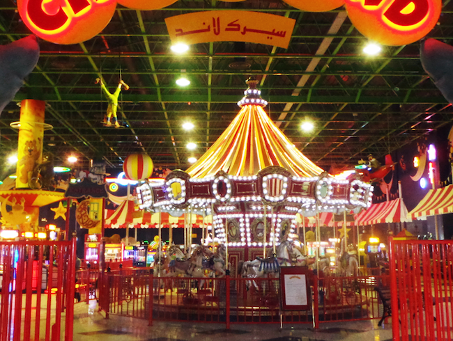 A Circus Inside a Shopping Mall