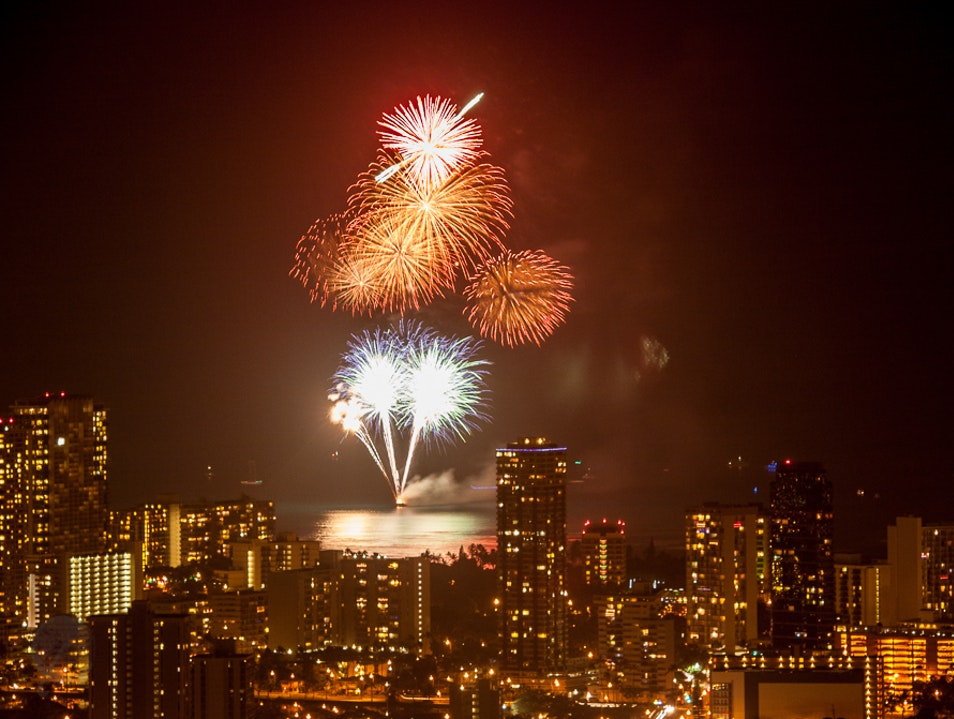 New Years Blast Honolulu Hawaii United States