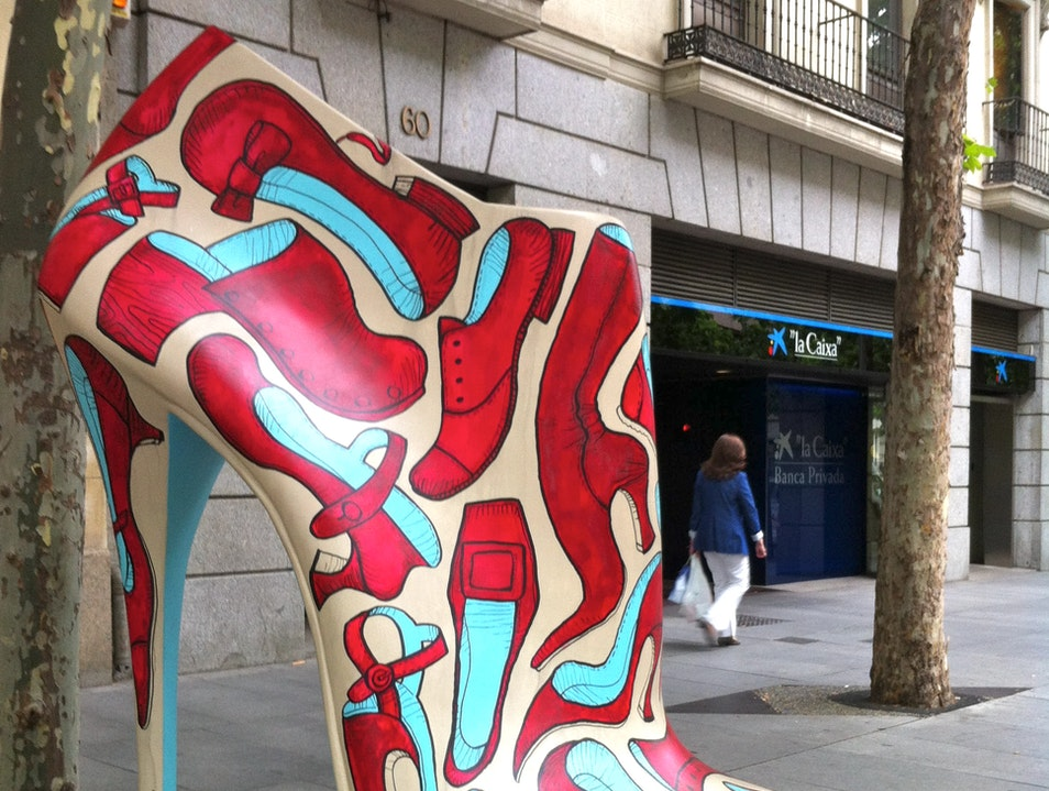 For the Shoe Fashionista Madrid  Spain