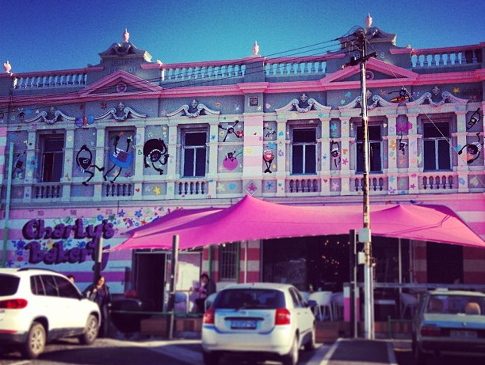A Cake Shop That Looks Like a Cake Cape Town  South Africa