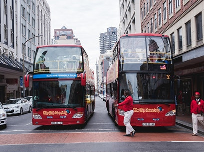 Red Bus Cape Town  South Africa