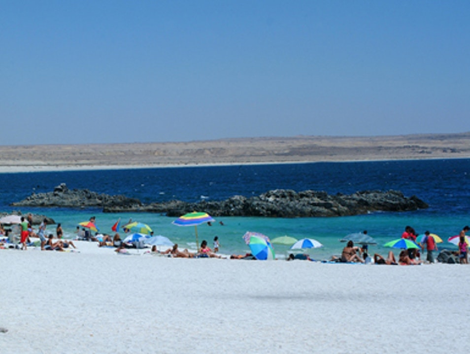 The Turquoise Sea in Bahia Inglesa Caldera  Chile