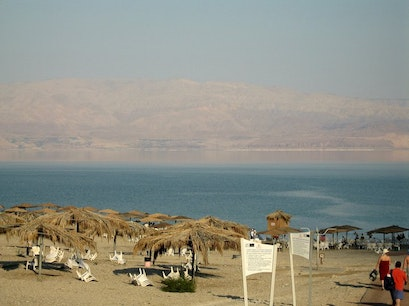 Mineral Beach, Dead Sea, ISRAEL   Earth